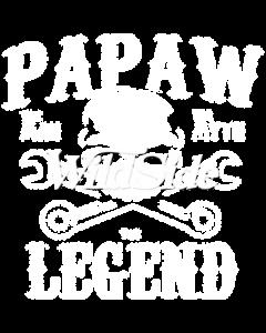 PAPAW MAN MYTH LEGEND SKULL