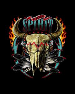 FREE SPIRIT-BUFFALO SKULL