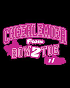 CHEERLEADER BOW 2 TOE NEON