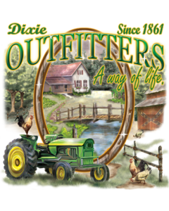 DIXIE OUTFITTERS TRACTOR