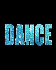 DANCE BLUE GLITTER