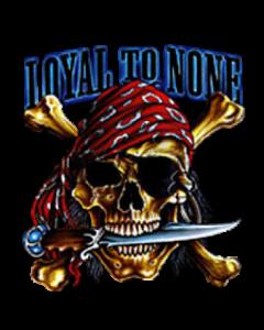 LOYAL TO NONE   2 PCS BORN WILD