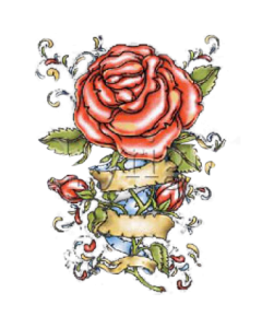 ROSE~VINTAGE TATTOO
