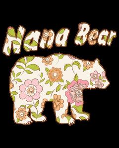 NANA BEAR FLOWER WALLPAPER