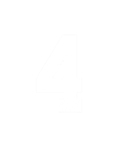 "6"" NUMBER 4- WHITE (warm peel)"