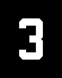 "8"" NUMBER 3- WHITE (warm peel)"