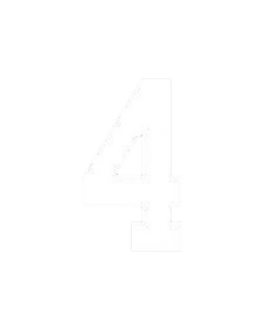 "8"" NUMBER 4- WHITE (warm peel)"