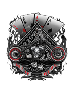 ACES AND MOTORCYCLE