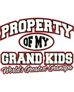 PROPERTY OF GRANDKIDS-GRANDPA