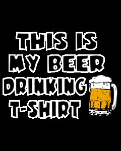 BEER DRINKING SHIRT