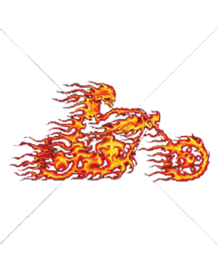 FLAME BIKER    PKT