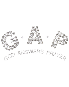 GAP~GOD ANSWERS PRAYER STUD