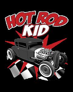 HOT ROD KID W/CHECKERED FLOOR