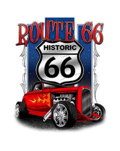 *ROUTE 66 HOT ROD