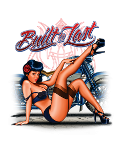 BUILT TO LAST PINUP
