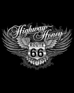HIGHWAY HONEY-ROUTE 66 W/WINGS