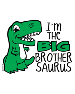 I'M THE BIG BROTHER SAURUS