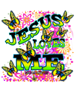 JESUS LOVES ME NEON