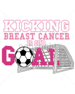 KICKING CANCER IS OUR GOAL SOCCER