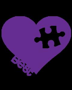 BEST FRIENDS PUZZLE-HEART