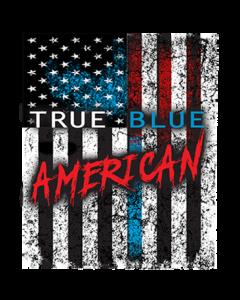 TRUE BLUE AMERICAN