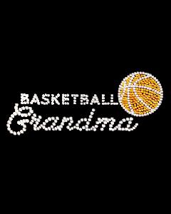 BASKETBALL GRANDMA RHINESTONES