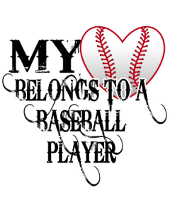 MY HEART BELONGS-BASEBALL