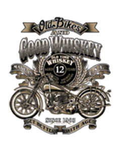 OLD BIKES AND GOOD WHISKEY