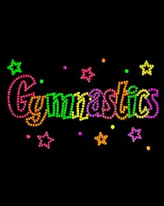 GYMNASTICS NEON RHINESTUD