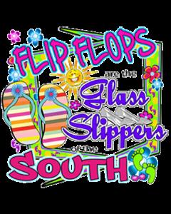 FLIP FLOPS GLASS SLIPPER NEON