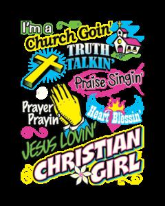 JESUS LOVIN CHRISTIAN GIRL