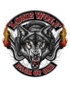 LONE WOLF PACK OF ONE