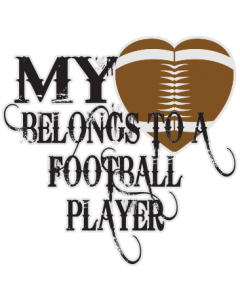 MY HEART BELONGS -FOOTBALL