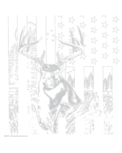 BUCK AMERICAN FLAG