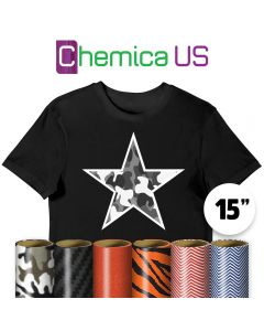 Chemica Fashion Vinyl By The Yard 15""