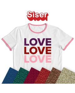 Siser Glitter Vinyl By The Sheet