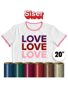 Siser Glitter Vinyl By The Yard 20""
