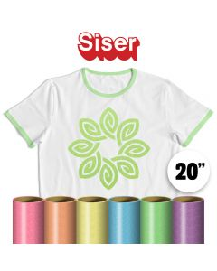 Siser Glitter Neon Vinyl By The Yard 20""