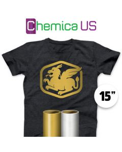 "Chemica Metallic Vinyl By The Yard 14"""