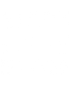 BLACK LIVES MATTER - WHITE