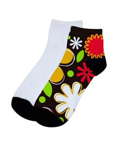 SUBLIMATION ANKLE SOCKS- WOMEN